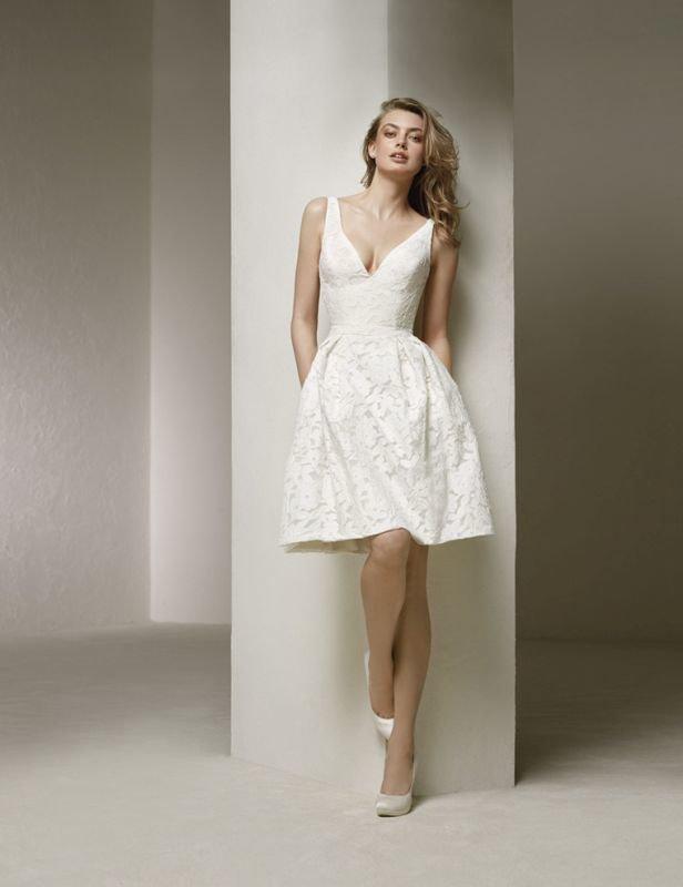 Goede Bruidshuis Diana   Korte trouwjurk kopen DT-12